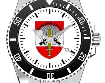 Numquam retro coat of arms of clock 1042 KIESENBERG®