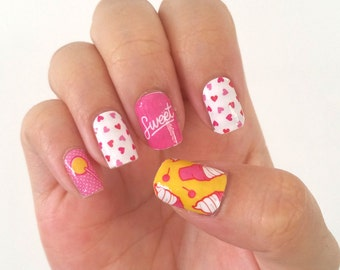Sweet Tooth Candy Nail Polish Wraps