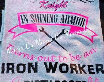 Iron Worker's Wife T-shirt