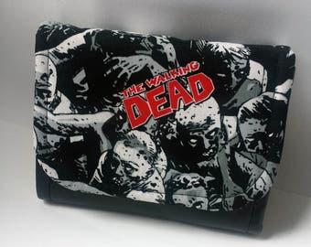 The Walking Dead ladies purse - Walking Dead wallet - Walking Dead ID holder - Handmade!