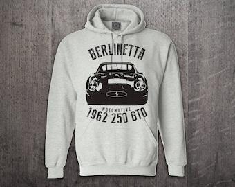 GTO Ferrari Hoodie, Cars hoodies, ferrari Berlinetta hoodies, Graphic hoodies, funny hoodies, Cars t shirts, Ferrari shirts 250 GTO t shirt