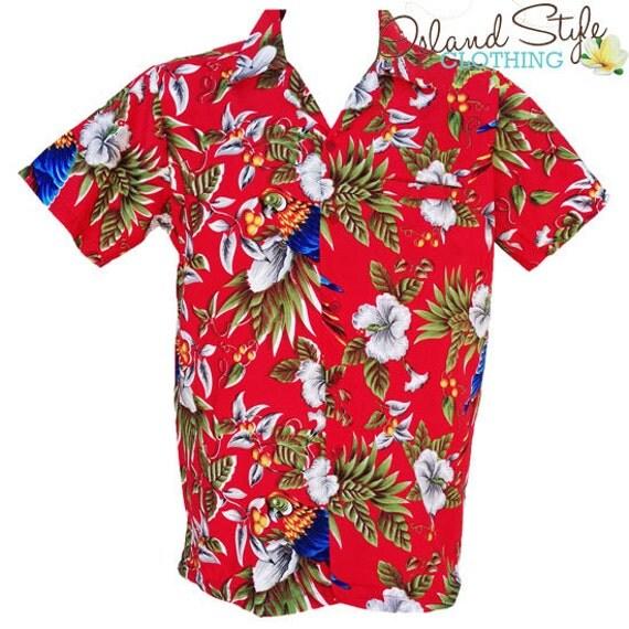 Hawaiian shirt red magnum fancy dress costume for Hawaiian shirt fancy dress