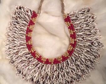 Bib Shell Necklace