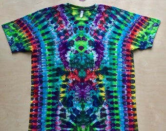 Custom Made to Order Kaleidoscopic Apparel Tie Dye Shirt