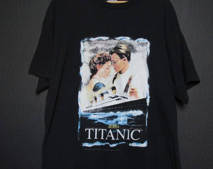 Titanic 1990's vintage Tshirt