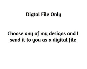 DIGITAL FILE ONLY Custom Personalised Word Art Print Digital File- Choose any of my Word Art Designs and I will send you a digital file