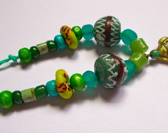 """Maia Turtle Bead Collection - Necklace - Length excluding turtle 20"""" (51cm) approx"""