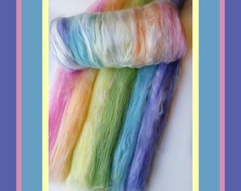 Carded Batt - Wool Batt for Spinning - FREE US Shipping