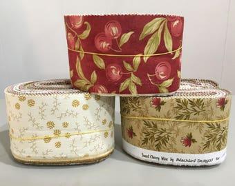 Moda Quilt Fabric Scrap Bags - Random