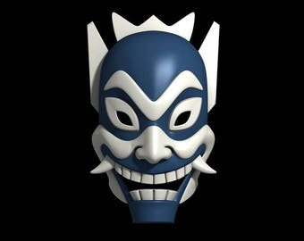 Blue Spirit Mask - Avatar: The Last Airbender Cosplay | Cosplay Mask | Mask | Comic Con | Cosplay Prop | Costume | Anime | Gift | Prop