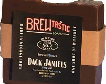 Jack Daniels Soap Body Hand Soap Craft Artisan Handmade Soap Whiskey Beer Brew