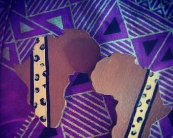Mini Africa Earrings