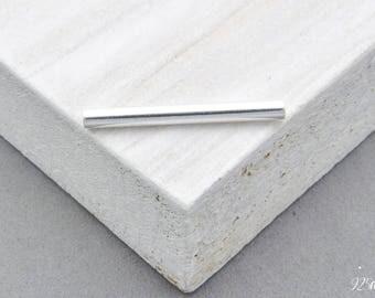 925 Sterling Silver tube pendant, tube pendant necklace tube, tube element, tube element jewelry, jewelry tube,