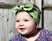 Knotted Headband, Baby Headband, Baby Shower Gift, Baby Head Wrap, Scandi Knit Headband, Cute Baby Gift, Top Knot Headband, Baby Girl Gift