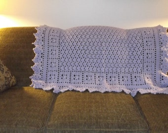 Lilac Accent Throw at it's best!