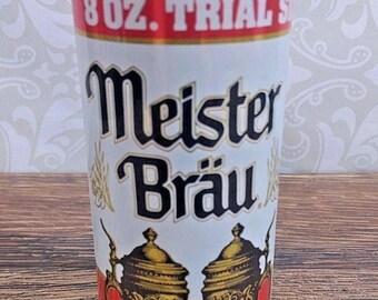 Vintage Meister Brau Beer Can 8 oz Trial Size Opened Stay Tab Miller Brewing