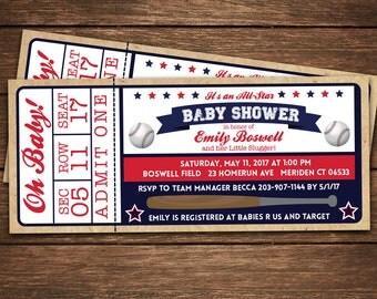 baseball baby shower invitation baseball baby shower baby shower invitation