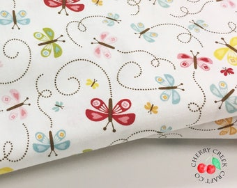 Butterflies Quilt Fabric - Happy Day - Riley Blake Designs