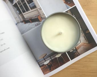 Vegan soy candle - Fig Tree & Cassis