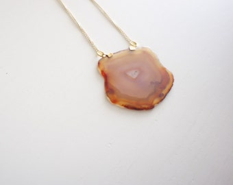 TEG Agate Necklace