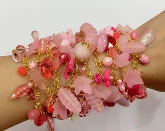 Friendship Bracelets-Pink Bracelets