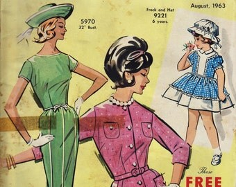 Australian Home Journal Magazine August 1963