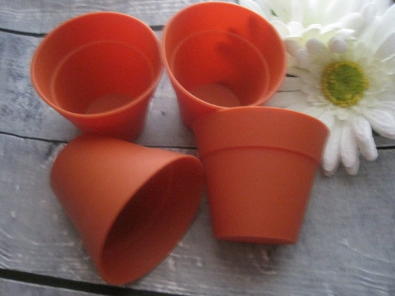 & Silicone Cupcake Flower Pots