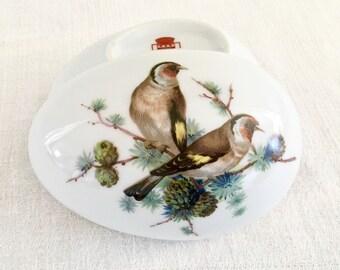 Porcelains Limoges Castel France Egg Trinket Dish