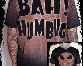 Bah! Humbug + Jack Skellington T-SHIRT / Camiseta Jack Skellington