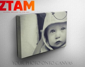 Your Own Photo To Canvas Custom Personalised Wall Art  - All Sizes -