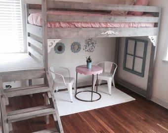 Twin, Twin XL, Full Loft Bed
