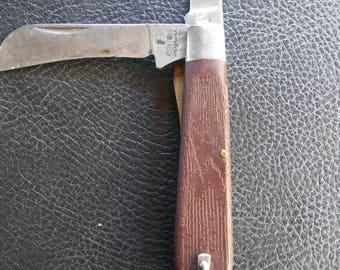 1960s klein tools hawk bill electritions knife