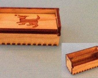 1:12 Dollhouse Miniature Pet Toy Box Kit/ Miniature Kit DI PT250