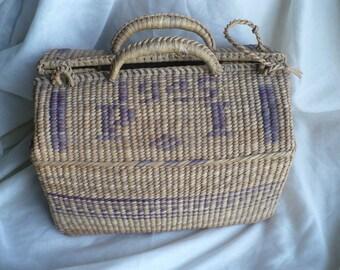 Vintage Grass Bag