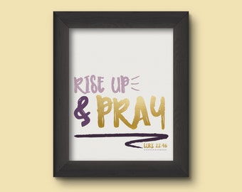 Digital Download // Rise Up & Pray