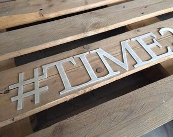 metal letters Wedding hashtag wall hanging sign # for wedding Social Media Sign Event sign hashtag Party hashtag sign Birthday Hashtag Sign