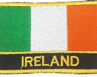 Ireland  Embroidered Sew or Iron on Patch Badge