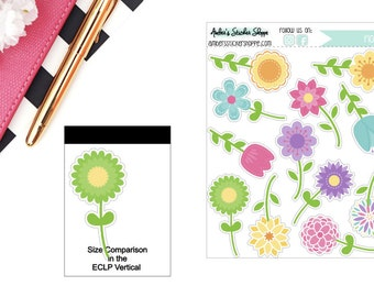 Spring Flowers Sticker for any Planner