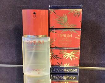 Opium perfume deodorant spray Vintage 89ml by Yves Saint Laurent Very Rare