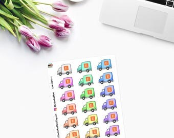 ETSY Delivery / Order - Planner Stickers  CAM00240E
