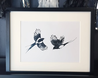 Two for Joy Inkling print
