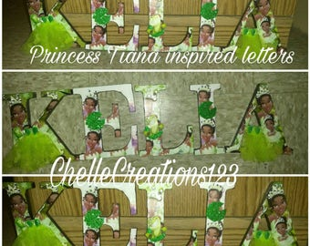 Princess Tiana letters