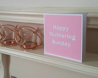 Paper cut card, Mother's day card, Mothering sunday, Card for mum, Mom card