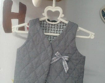 Quilted Baby Vest