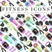 Fitness Icons Clip Art / Clipart Pastel Neon Rainbow Watercolor Workout Exercise PNGS Commercial Use Hand Drawn Graphics Instant Download