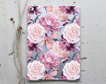 Bohemian Flowers Case iPad Mini Case iPad Pro 9.7 Case iPad Cover iPad Pro 12.9 Case iPad Air 2 Case Smart Case iPad Air 4 Case Unique i156