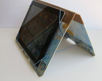 Tablet holder, tablet transport, original, practical, travel motif