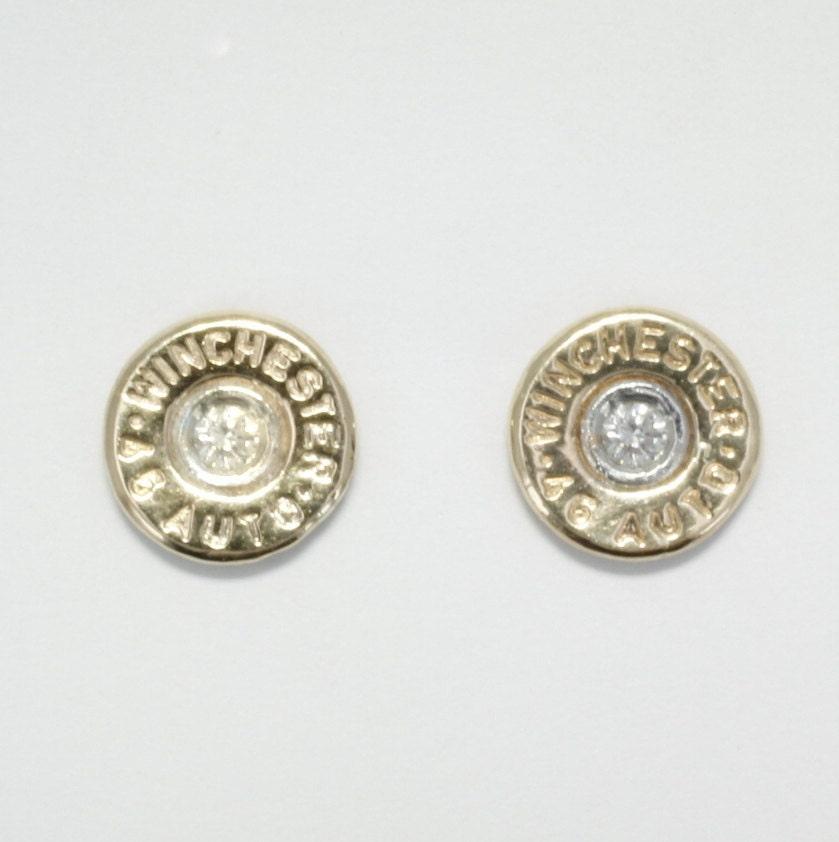 gold bullet jewelry earrings winchester 174 jewelry 14kt
