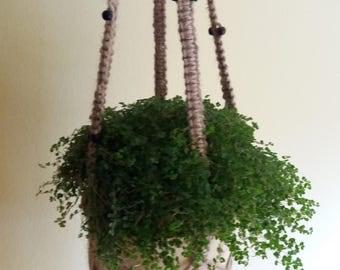Hanging Planter, Planters, Macrame Plant Holder, Planter, Vertical Planters  ,Indoor Planters