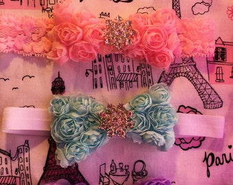Rosette Bow Headband